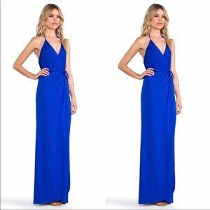 Karina Grimaldi dress - it's the raspberry color